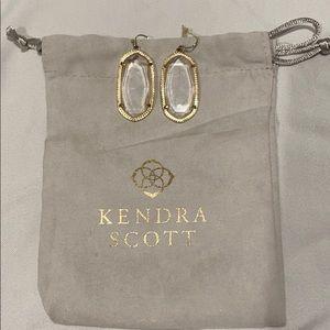 Clear Kendra Scott Earrings